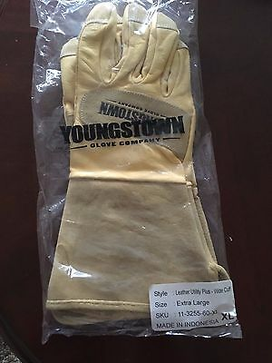 Youngstown Glove FR Leather Utility Plus Wide Cuff X-Large