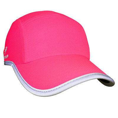NEW Headsweats High Visibility Race Hat - Pink from Ezi Sports Store