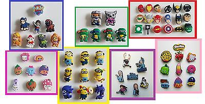 Shopkins-Ninja Turtles-Minions-PAW Patrol-Super Heros shoe charm for Crocs