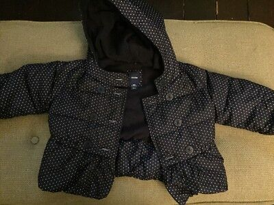 Baby Gap Girls Coat Aged 18-24 Months