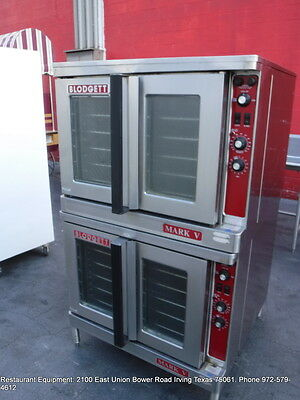 Blodgett Mark V Electric Double Stack Full Size Convection Oven