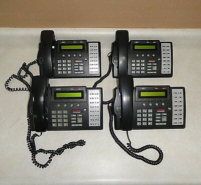 Lot of 4 of Used LUCENT i2021 ISDN BUSINESS TELEPHONES - OFFICE PHONE TELSETS
