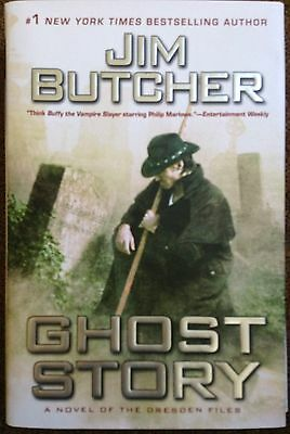 SIGNED GHOST STORY by Jim Butcher (Hardcover 1st Edition, 1st  Printing)
