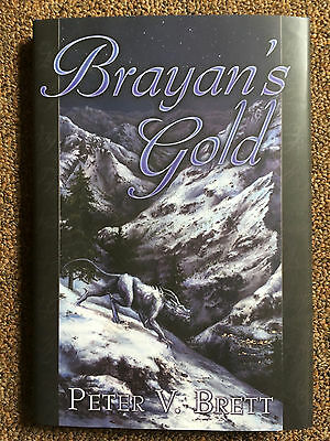SIGNED Brayan's Gold by Peter V. Brett (1st Edition Hardcover)