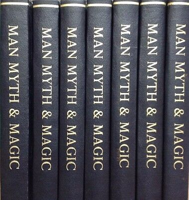 Man, Myth and Magic. Bound 7 Volume set of original 1970s magazine