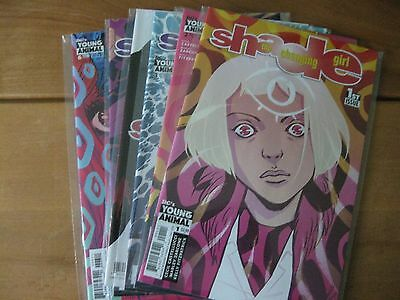 Shade the Changing Girl #s 1 2 3 4 5 6 comic books - DC's Young Animal + Zarcone