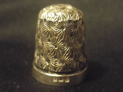 Vintage Solid Silver Thimble