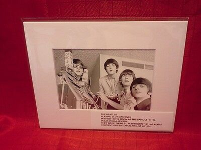 **THE BEATLES** PLAYING SLOT MACHINE'S  SAHARA HOTEL-CASINO LAS VEGAS,NV print