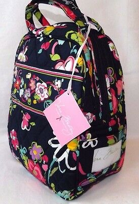 Vera Bradley Lunch Bunch Bag  Insulated & Washable - Ribbons Navy - New With Tag