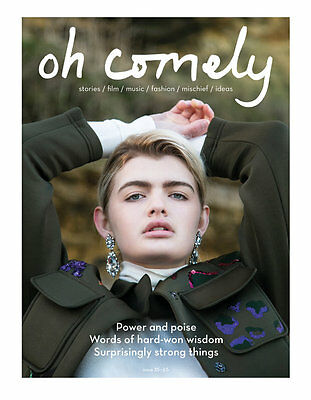 Oh Comely Magazine Issue 35 / strength NEW UNREAD