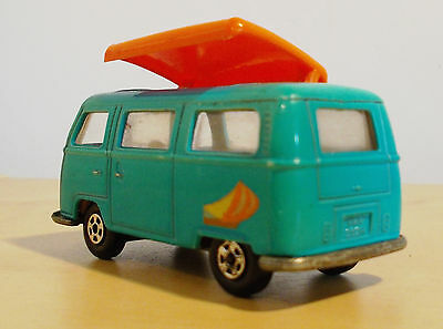 Matchbox Lesney No: 23 Volkswagen Camper Bully VW 1970 top Zustand + Sticker