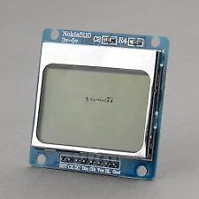 3v~5V Nokia 5110 LCD Screen Module Blue Display for Arduino