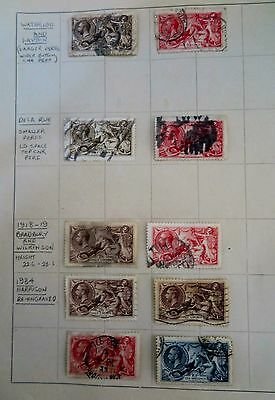 Great Britain Seahorse Stamps
