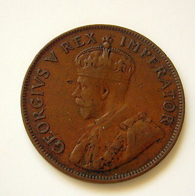 1935 SOUTH AFRICA PENNY 1d Coin