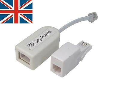 ADSL Passive Surge Protector Adapter RJ11 and BT uk seller, shipped from UK