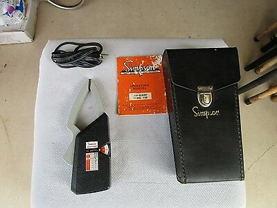Simpson AC Current Amp=Clamp Model 150 Includes Manual and Case