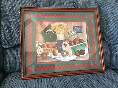 Apple Wall Hanging Home Interiors
