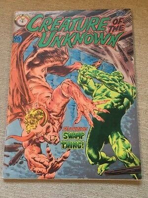 Creature Of The Unknown   Murray Comics - Swamp Thing Cover -Australian