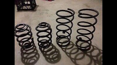Vt/vx Lowered V8 Fe2 Front And Rear Springs
