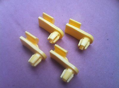 75-92 Ford F100 Parts Door Lock Mech Clips X 4 Also Same As Tail Gate Rod Clip