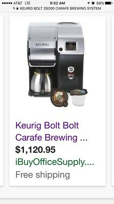 Keurig Bolt Brewing System Z6000
