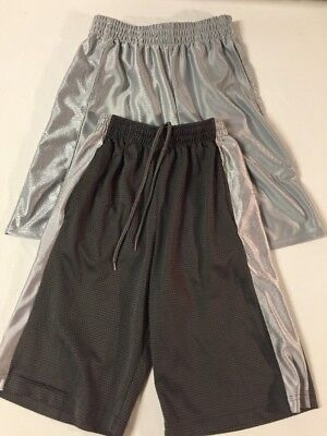 boys athletic shorts Size 10-12 Lot Of 2 Great Condition