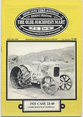 The Olde Machinery Mart TOMM Magazine issue 23 June 1989