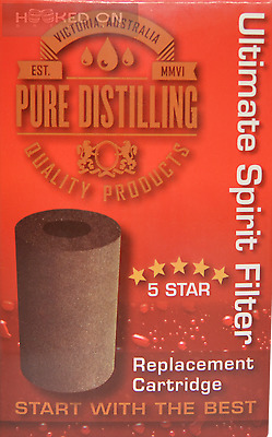 Pure Distilling Carbon Filter Cartridge - Ultimate FIlter - Home Brew Spirit EZ