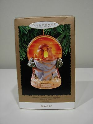 1994 Hallmark Lion King Keepsake Ornament Magic Simba Sarabi Mufasa Lighted