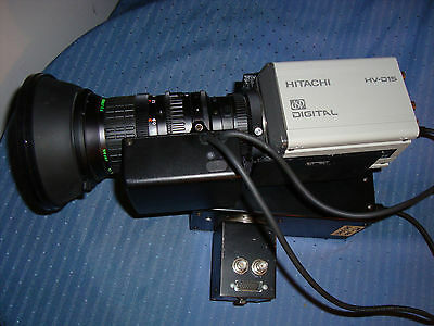 Hitachi HV-D15 Digital Color Camera Fujinon S16x6.7BMD-D4M 1:1.4/6.7 107mm Lens
