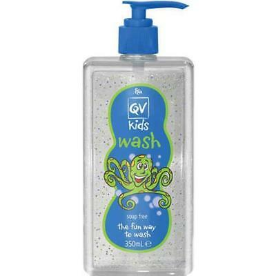Ego Qv Kids Wash Pump 350Ml Vitamin A And E In Micro Beads