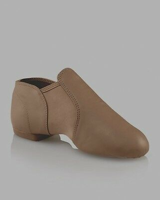 New Capezio CG15 TAN Stretch Dance Jazz Shoes Unisex 10M & 10W