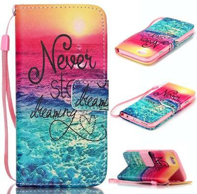 Hot Pattern Magnetic Leather Wallet Case Stand Flip Cover For iPhone 6 6s Plus