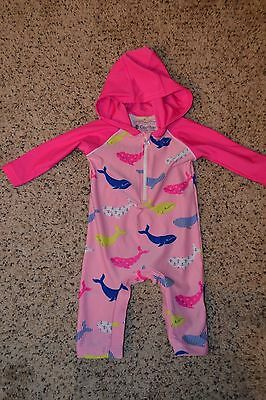 Coolibar UV Protection One Piece Outfit - Infant Girls Sz 3-6 Months