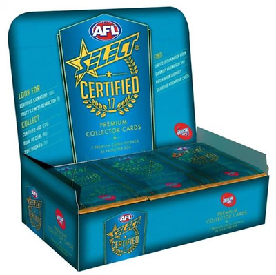 2017 Afl Select Certified Footy Cards Sealed Packs