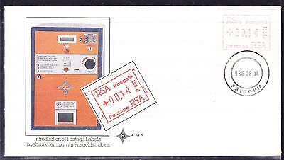 South Africa 1986 - FRAMA Labels  Souvenir Cover - Unaddressed