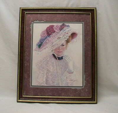 """Home Interior Homc""""The Garden Party Picture""""Victorian Lady Pearl""""thur gods grace"""