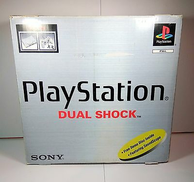 Playstation 1 Console Complete in Box + 2 Controllers + Memory Card