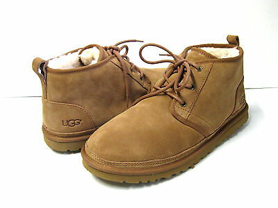 9bb5efa7bc2 UGG MEN NEUMEL Chestnut Fully Line Shearling Suede Shoe Us 11 / Eu ...
