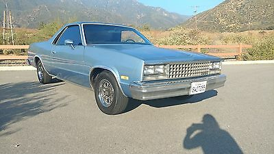 1985 Chevrolet El Camino  Clean Solid California G-Body! Ready to customize!