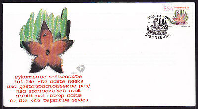 South Africa 1993 - Succulent Souvenir Cover - Unaddressed