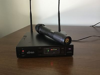MIPRO ACT-707SE Single Channel Wireless Receiver, mic ACT-707H