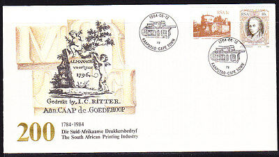 South Africa 1984 - Printing Industry Souvenir Cover - Unaddressed