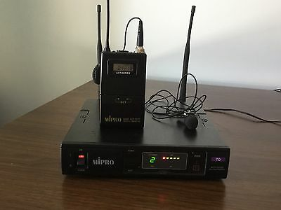 MIPRO ACT-707SE Single Channel Wireless Receiver, ACT707TE ACT series belt pack