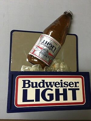 Small Budweiser Light Pub Sign ~ Scarce ~
