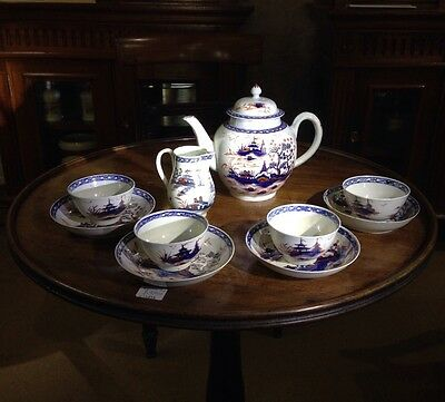 Liverpool tea service, Christian & Co, Chinese Landscapes, C. 1770