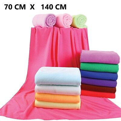70x140cm Microfiber Towel Bath Beach Camping Swimming Drying Washcloth Shower