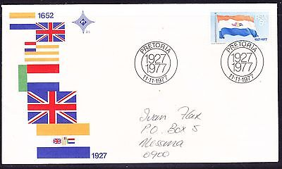 South Africa 1977 Flags  Souvenir Cover - addressed