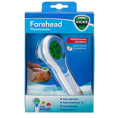 Vicks Forehead Thermometer V977C ** Brand New ** Great Value!