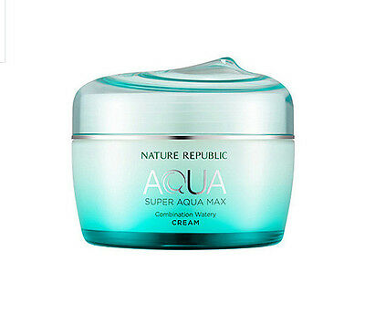 [ Nature Republic ] Super Aqua Max Combination Watery Cream 80ml /Moisturizing